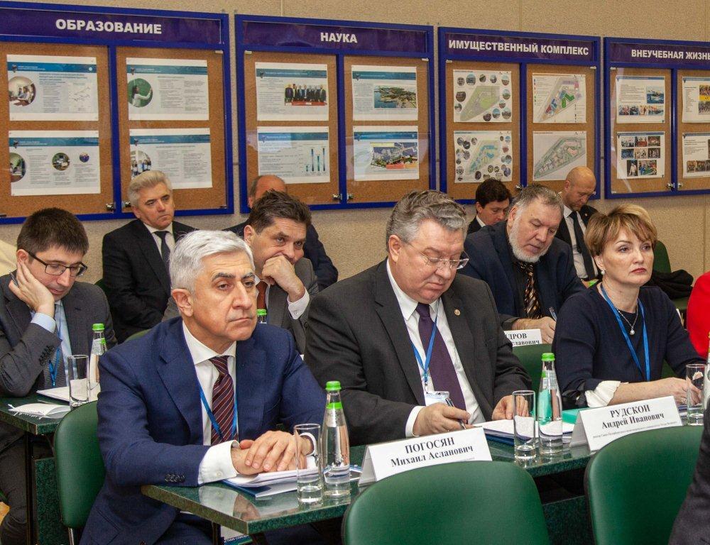 П И Романов А И Рудской Н П Патрушев Координационный совет Совбез 25 января