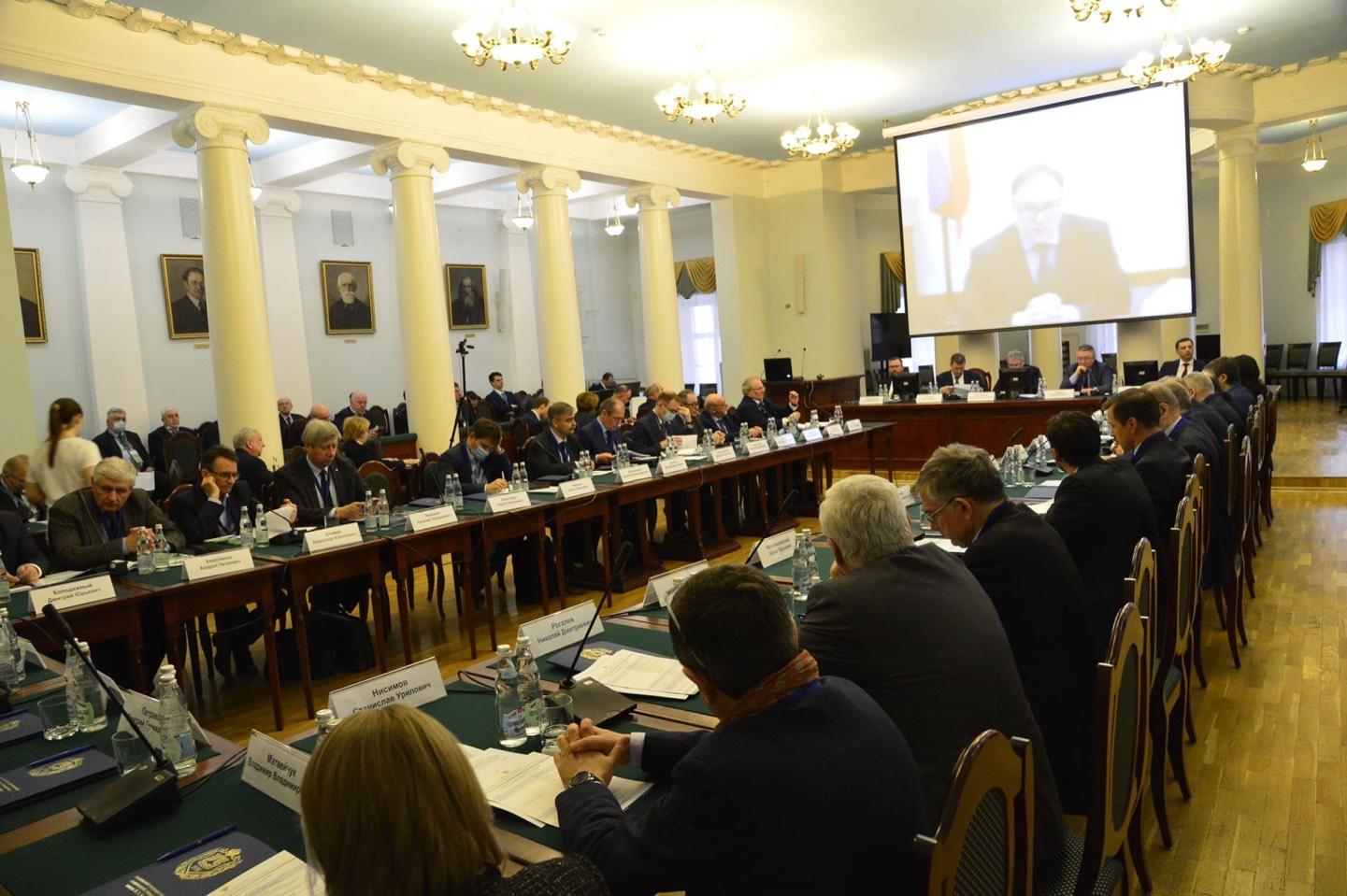 Д В Афанасьев Расширенное заседание Координационного совета 2021